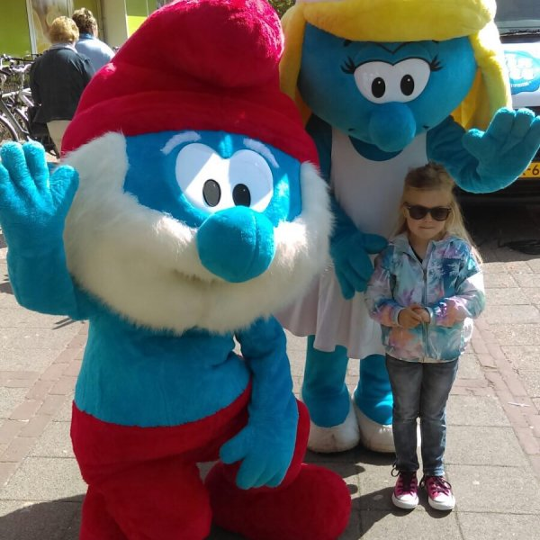 Meet & Greet De Smurfen inhuren of boeken? | JB Productions