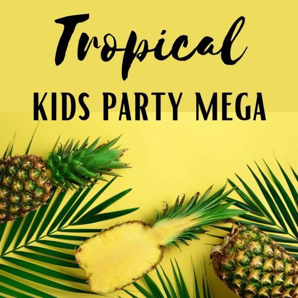 Tropical Kids Party - Mega huren of boeken | Artiestenbureau JB Productions