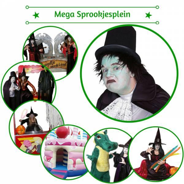 Het Mega Sprookjesplein huren of boeken | Artiestenbureau JB Productions