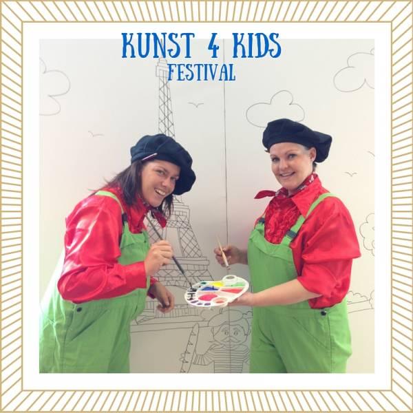 Kunst 4 Kids Festival huren of boeken | Artiestenbureau JB Productions