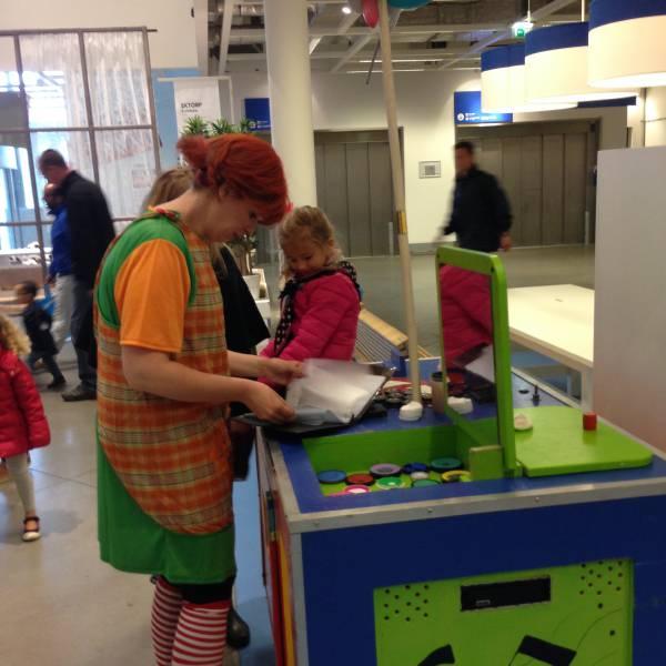 Pippi en haar Verrassings Karretje inhuren of boeken? | JB Productions