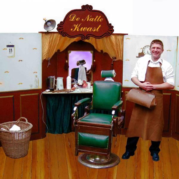 Nostalgische Barbier huren of boeken? | JB Productions