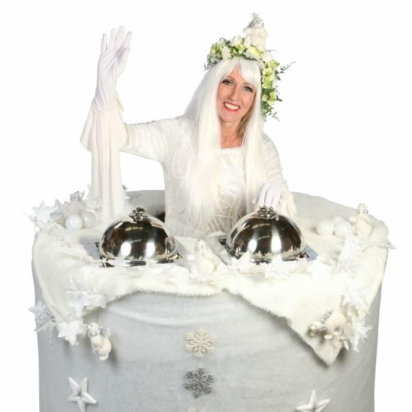 Walking Table - Winter Koningin inhuren of boeken? | Sint en Kerst
