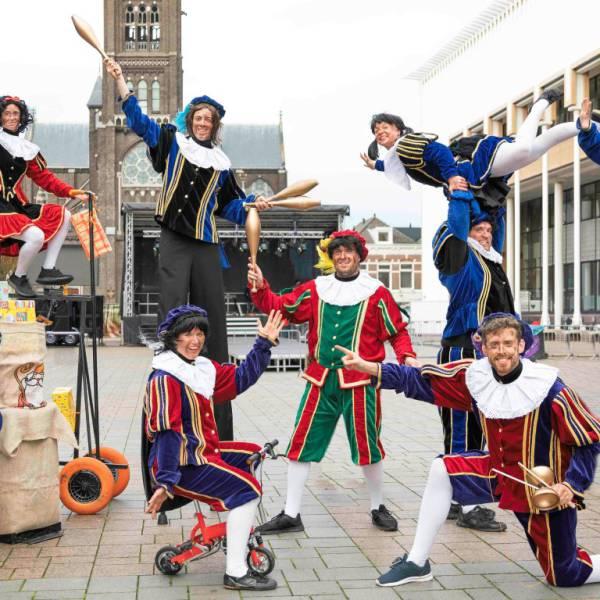 Circus Pieten Parade boeken of huren? | SintenKerst