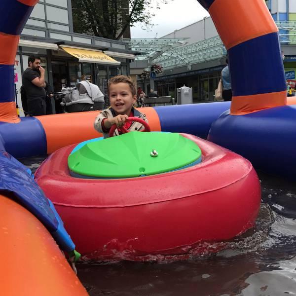 Bumper Bootjes Waterspektakel huren - attractieverhuur | JB Productions