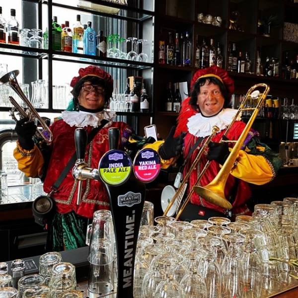 Zwarte Pieten dixie duo boeken of huren   SintenKerst