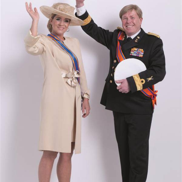 Look a Like Koning Willem Alexander en Koningin Maxima inhuren of boeken | Artiestenbureau JB Productions