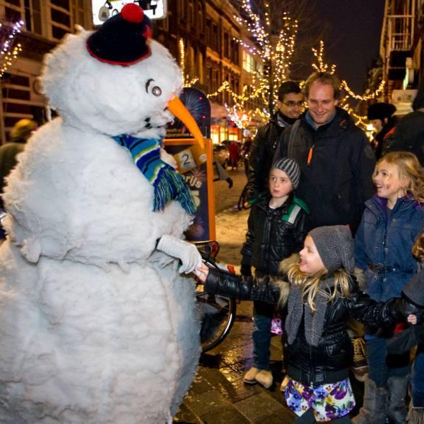 Sneeuwman - animatie act boeken of huren? | SintenKerst