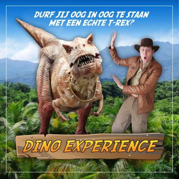 Dino Experience - Lopende T-Rex inhuren of boeken | JB Productions
