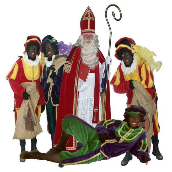 Sinterklaas en 4 Zwarte Pieten huren of boeken? | SintenKerst