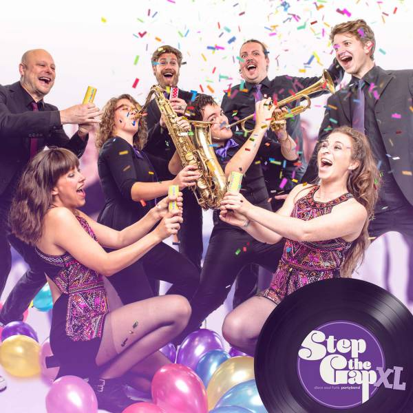 Step the Gap - Disco, Soul & Funk coverband inhuren of boeken | JB Productions