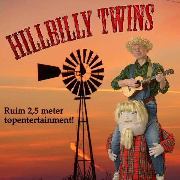 Hillbilly Twins - Muzikale Steltloop Act | JB Productions
