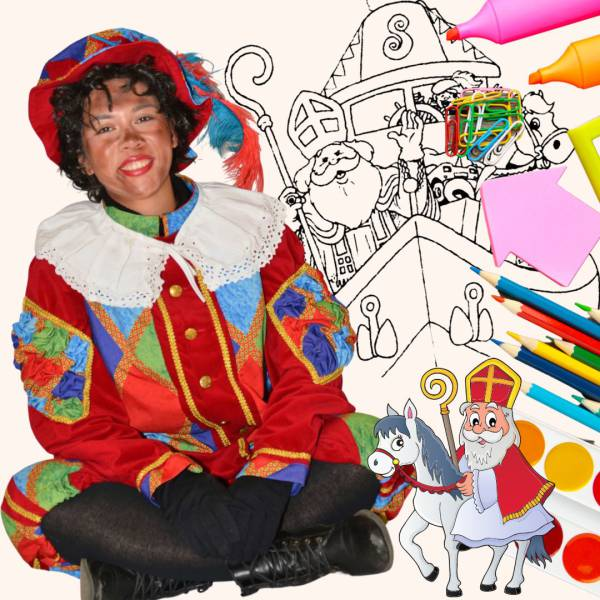 Sinterklaas Kleurwedstrijd huren of boeken? | SintenKerst