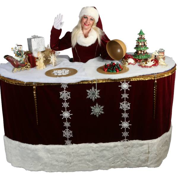 Miss Mable X-Mas Table inhuren of boeken? | SintenKerst