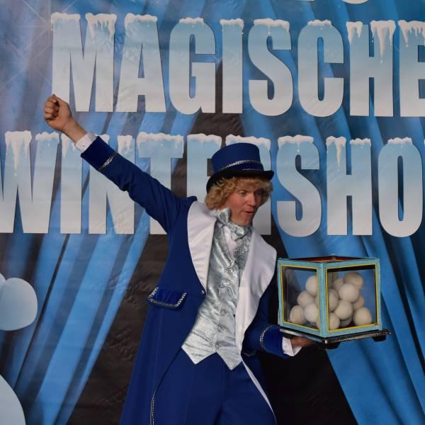 Magische Wintershow inhuren of boeken? | JB Productions