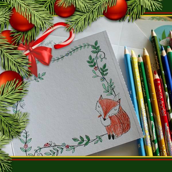 Kids Workshop - Kerstkaarten maken huren of boeken? | SintenKerst