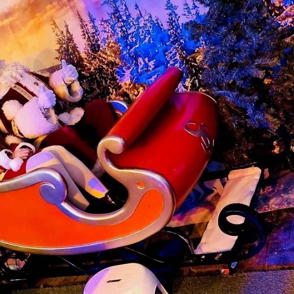 Santa Sleigh Ride Virtuality boeken of inhuren | SintenKerst