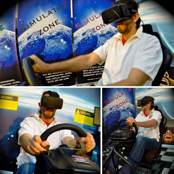 Virtual Reality Race Seat boeken of huren? | JB Productions