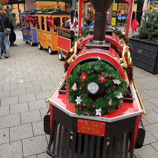 Kerst Kindertrein huren - Kerst Express huren   SintenKerst