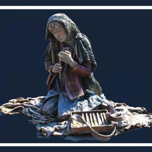 Het Meisje met de Zwavelstokjes - Levend Standbeeld boeken of huren? | SintenKerst