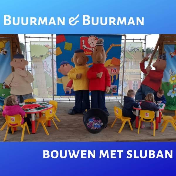 Buurman & Buurman bouwen met Sluban boeken of inhuren? | JB Productions