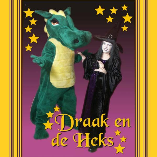 Meet & Greet de Draak en de Heks inhuren of boeken? | JB Productions