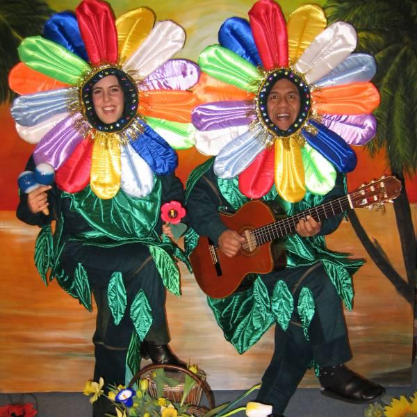 De Zingende Bloemen boeken of inhuren? | JB Productions