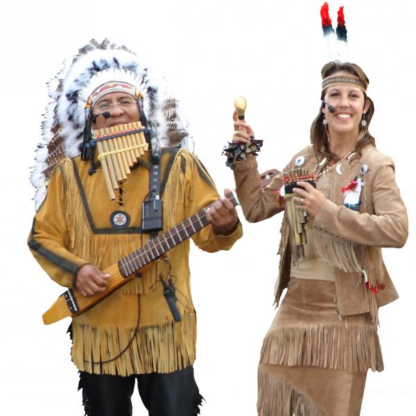 Apache Indianen - Los del Sol boeken of inhuren? | JB Productions