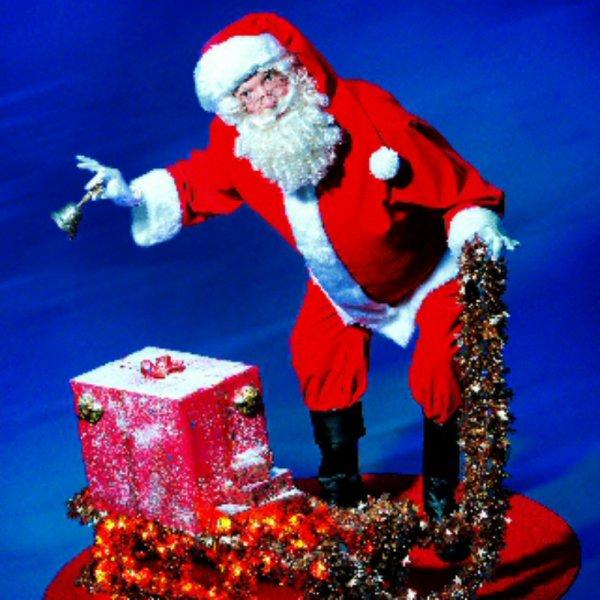 Mechanische Kerstman inhuren of boeken | SintenKerst