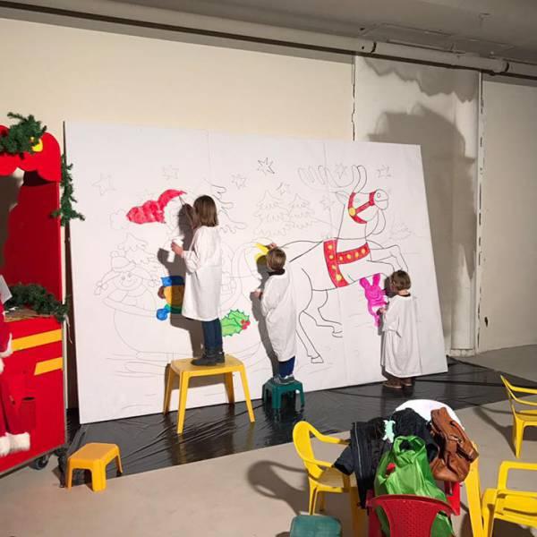 Kunst 4 Kids met Kerst tekening inhuren of boeken | SintenKerst