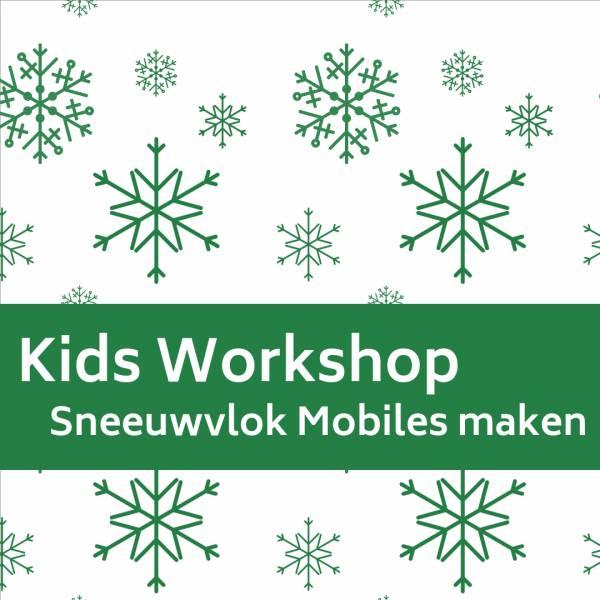 Kids Workshop - Sneeuwvlok Mobiles Maken boeken of huren? | SintenKerst
