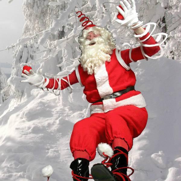 Spiral Santa boeken of inhuren | SintenKerst