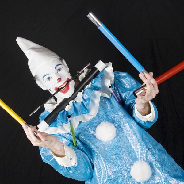 Clown Zassie Kindershow inhuren of boeken | SintenKerst