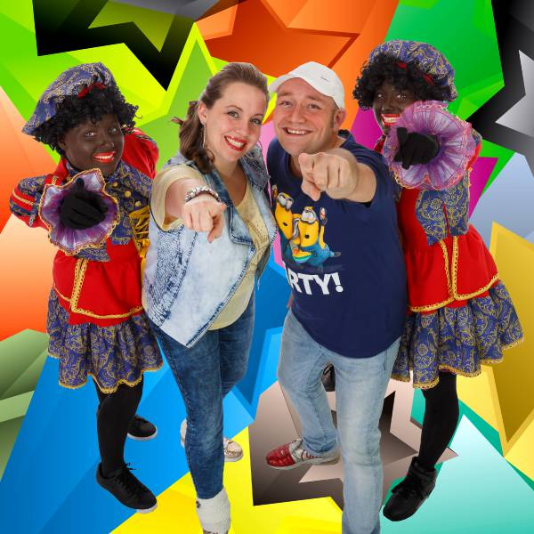Kids Mega Pieten Party boeken | JB Productions