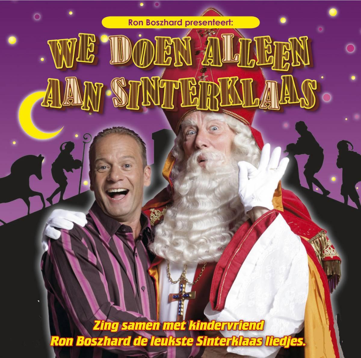 Sinterklaasshow met Ron Boszhard