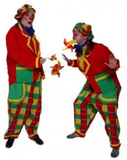 Clown Luxe Kostuum huren | Partyspecialist.nl