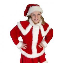 Kerstvrouw kostuum - Partyspecialist | Partyspecialist.nl