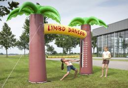 Opblaasbaar Limbo Dansen | Partyspecialist.nl
