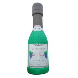 Opblaasbare Champagne Fles | Partyspecialist.nl