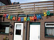 Opblaasletters Abraham | Partyspecialist.nl