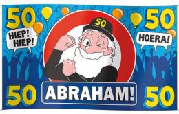 Gevelvlag Abraham | Partyspecialist.nl