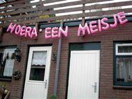 Opblaasletters Meisje | Partyspecialist.nl