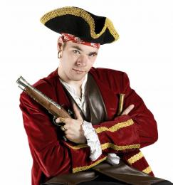 Piraat voor kinderfeestje | Partyspecialist.nl