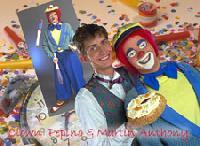 Clown Pepino & Martin Anthony - clownshow.nl