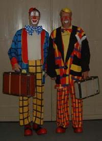Clown Jibbe & Clown Chocho - clownshow.nl