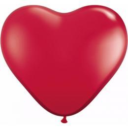Heliumballonnen Hart Rood | Partyspecialist.nl