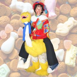 Gerritje Grijpgraag met Zwarte Piet huren