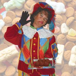 Zoen van Zwarte Piet inhuren of boeken