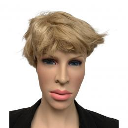 Blonde Pruik: Kort   Partyspecialist.nl