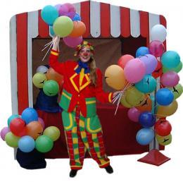 Ballonnenstand : Helium Lucht of Wedstrijd huren